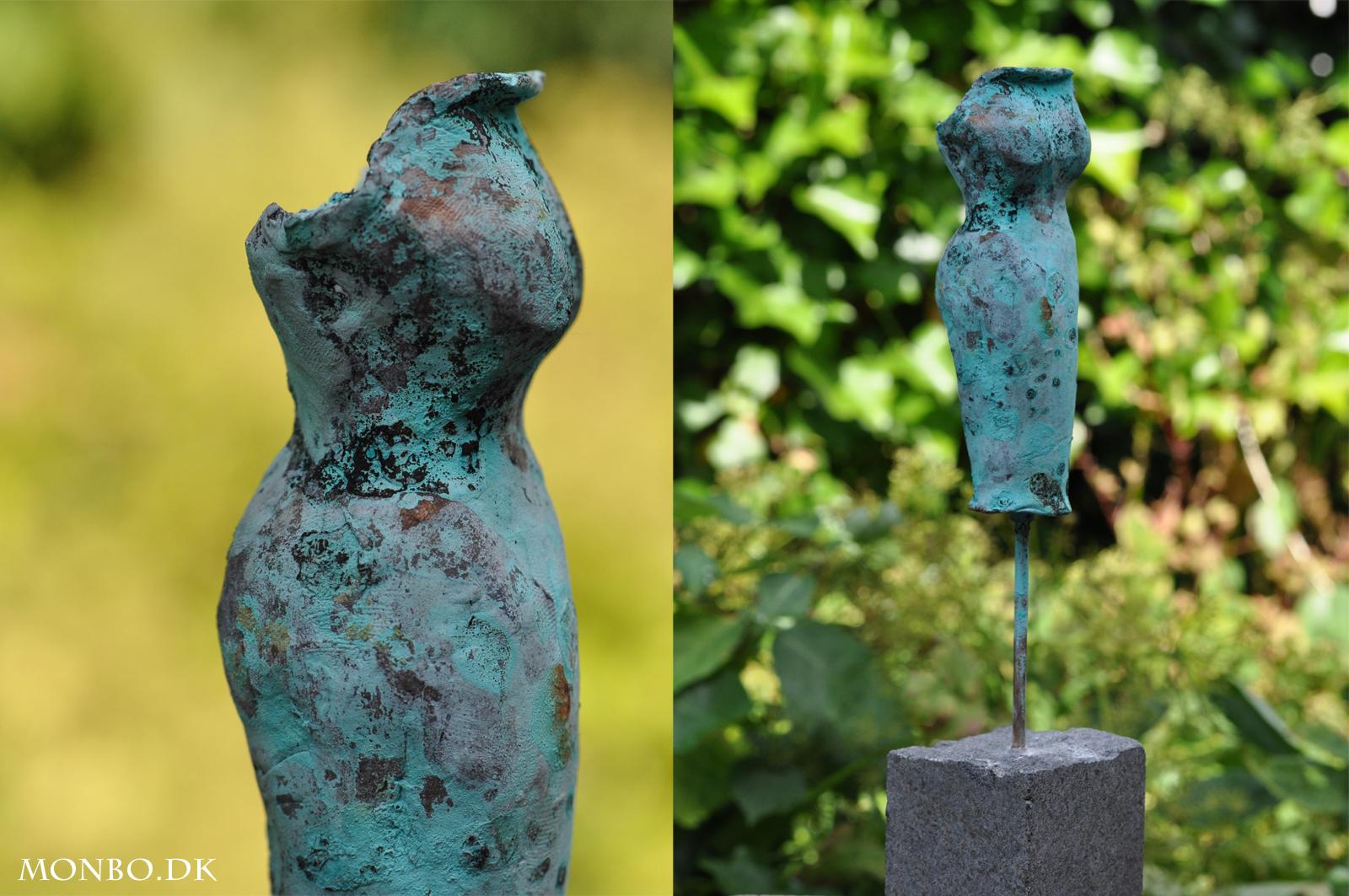 Bronzekjole fra bronzeskulpturer.com