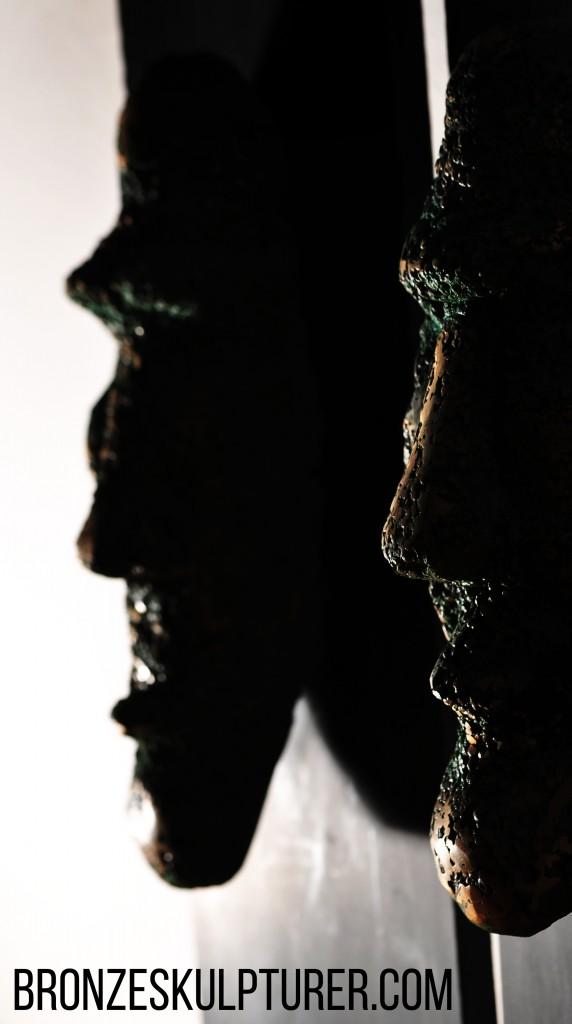 Bronzeansigter