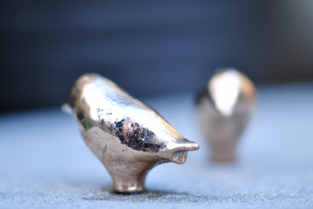 Bronzeskulpturer - Fuglene.