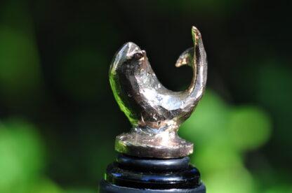 Vinpropper i bronze - Delfin