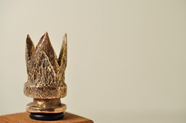 Kongen - Vinprop i bronze