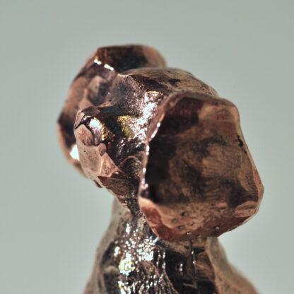 Vinprop i bronze - Hund