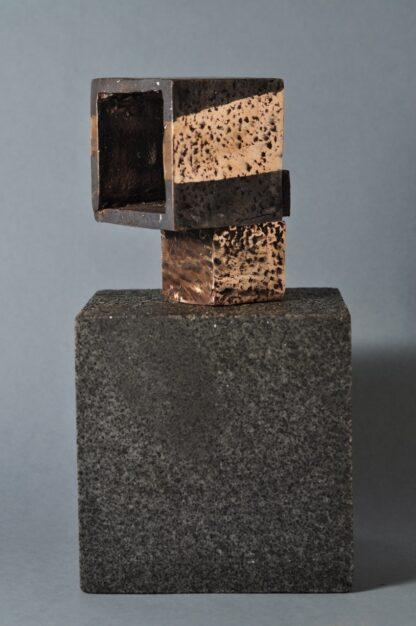 Arkitektur-skulptur i bronze. Skulpturer til hjemmet.