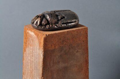 Bronzeskulptur - Scarab