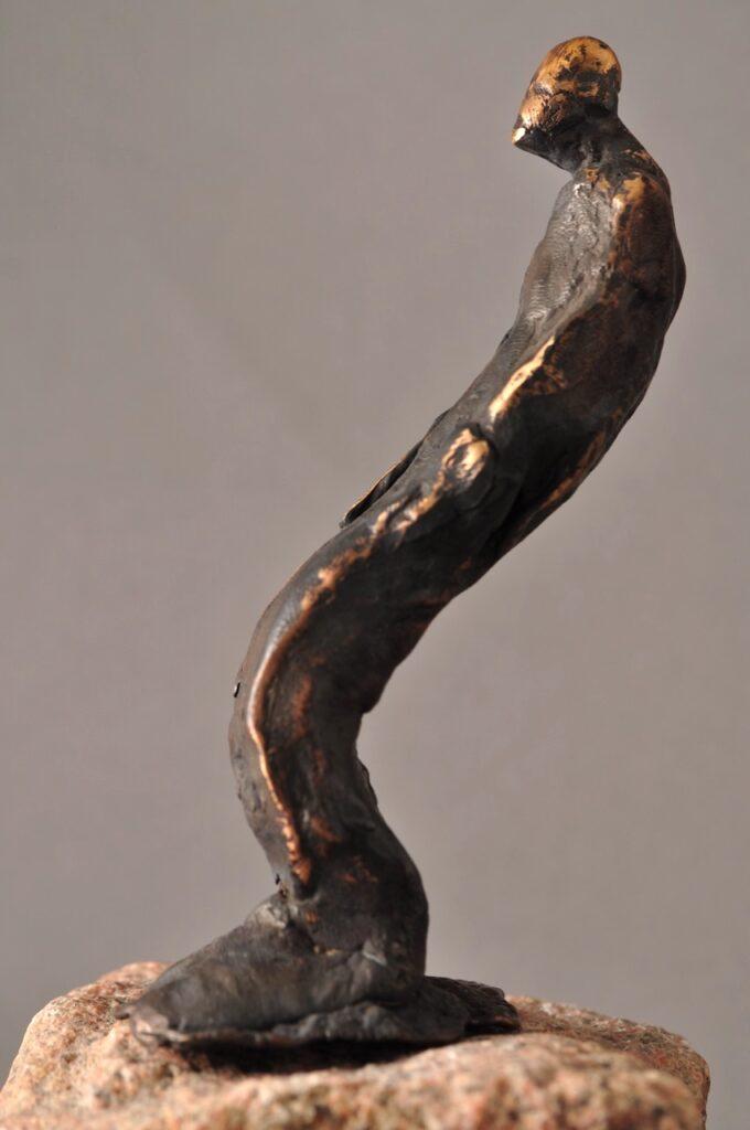 Bronzefigur - Man