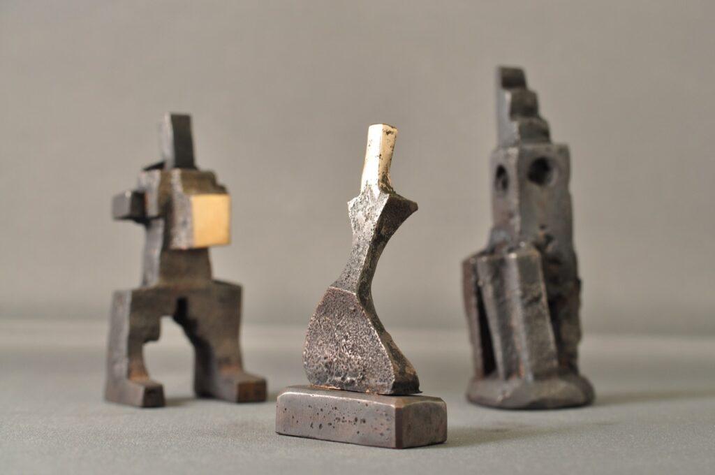 Jazz - bronzeskulptur