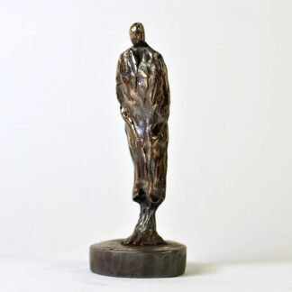 Mandefigur i bronze