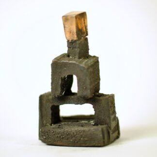 Stabel - arkitekturskulptur i bronze
