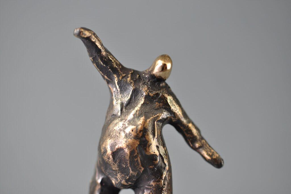 Bronzefigur - Mand