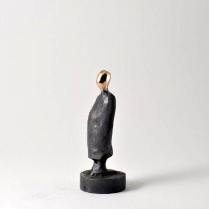 Far - bronzeskulptur