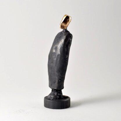 Farfar - bronzeskulptur