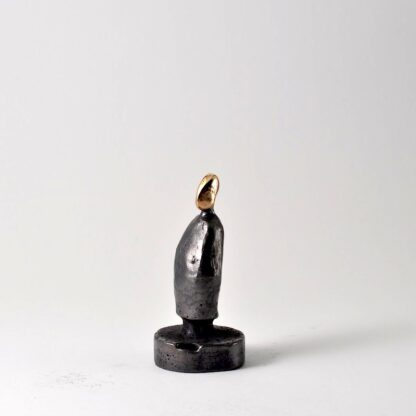 Søn-bronzeskulptur