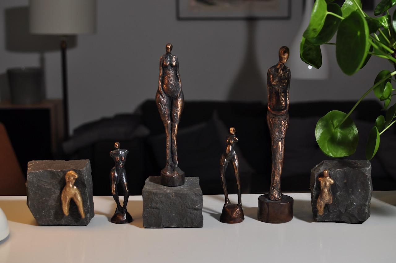 Cire Perdu - Bronzeskulpturer