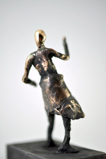 Danser - Bronzeskulptur