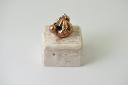 Baby - bronzeskulptur