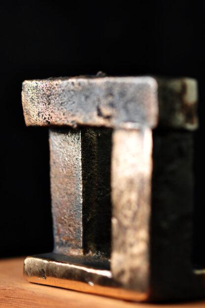Porten-Bronzeskulptur