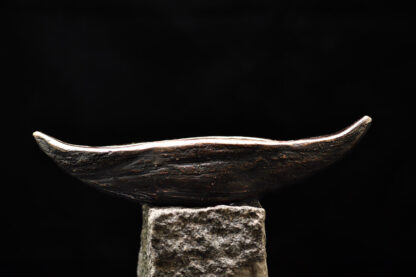 Skibet - bronzeskulptur