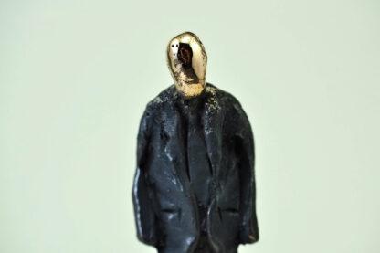 Business man - Bronzeskulptur