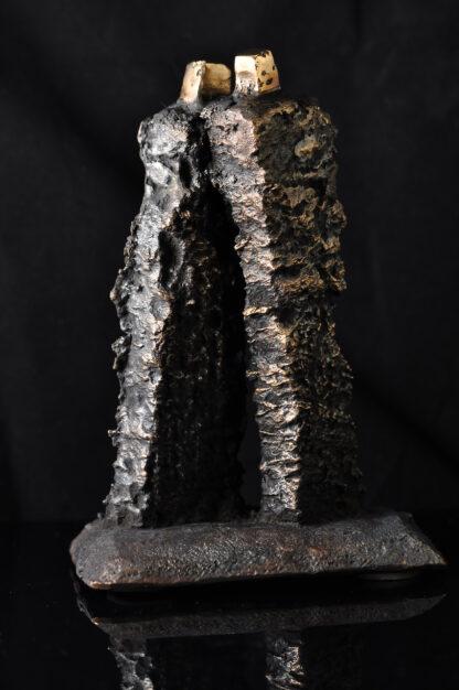 Par - Bronzeskulptur